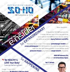 e-Newsletter SoHo Podomoro City 2ND Edition_001