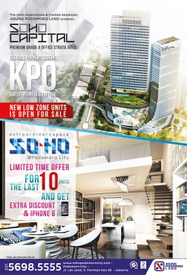 Iklan-SOHO-Podomoro-City,-Kompas-30-Okt-2014