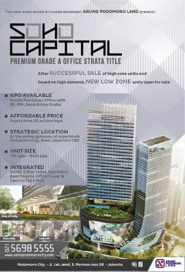 Iklan SOHO Capital, Kompas 30 Jan