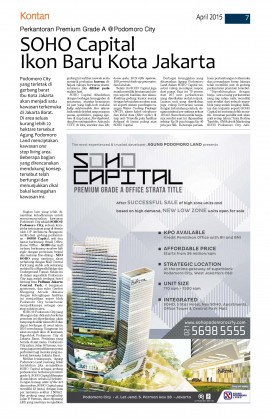 SOHO Capital-Kontan 9 April 2015