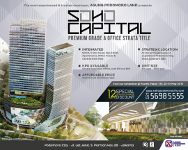 Iklan SOHO Capital, Kontan 25 Mei 2015-01