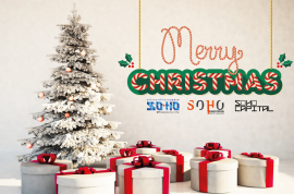 Christmas greetings from SOHO 2015-04
