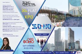 SOHO e-newsletter Podomoro City (JAN-MAR)