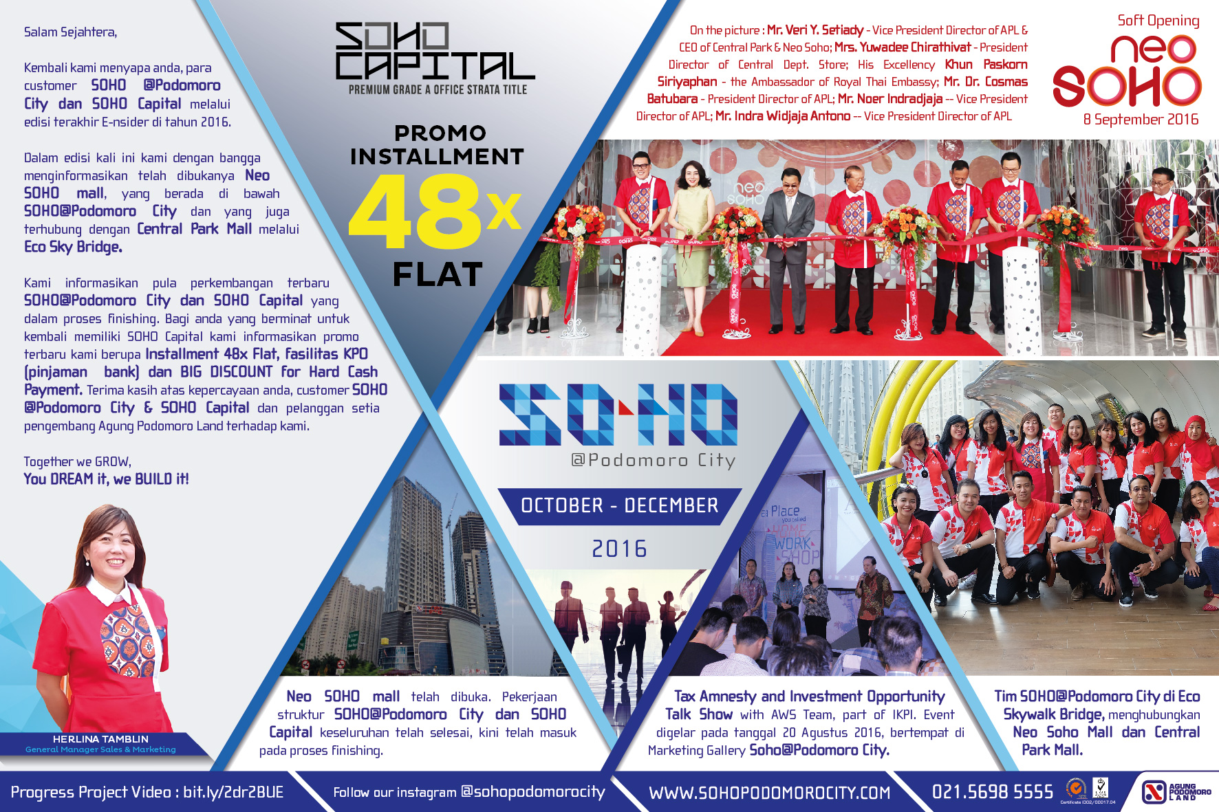 SOHO Poci e-newsletter Oct - Dec 2016
